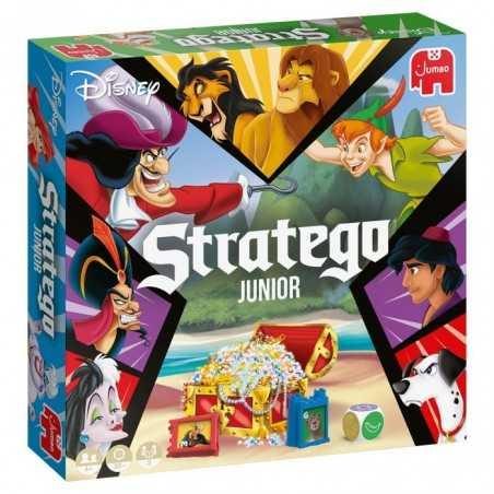 STRATEGO JUNIOR gioco da tavolo IN ITALIANO eroi disney JUMBO quest & triumph 2 GIOCHI età 4+
