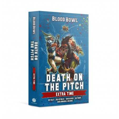 DEATH ON THE PITCH extra time BLOOD BOWL warhammer BLACK LIBRARY libro IN INGLESE autori vari