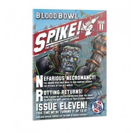 BLOOD BOWL magazine SPIKE 11 games workshop CITADEL in inglese RIVISTA età 12+
