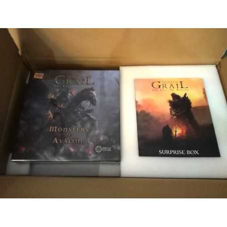 TAINTED GRAIL kickstarter with stretch goals and Monsters of Avalon