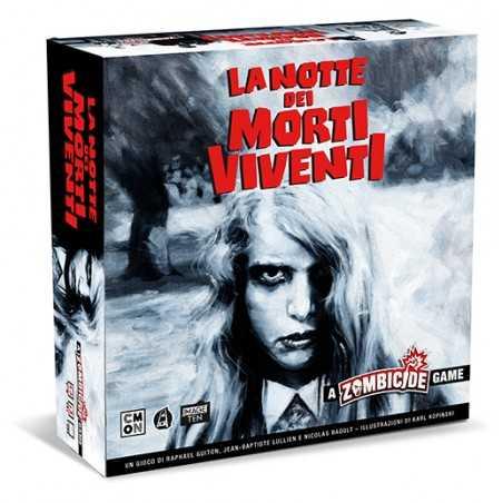 LA NOTTE DEI MORTI VIVENTI gioco da tavolo ZOMBICIDE cool mini or not IN ITALIANO miniature ROMERO età 14+
