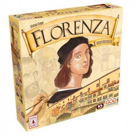 FLORENZA gioco da tavolo DECIMO ANNIVERSARIO gate on games IN ITALIANO placentia games X età 14+
