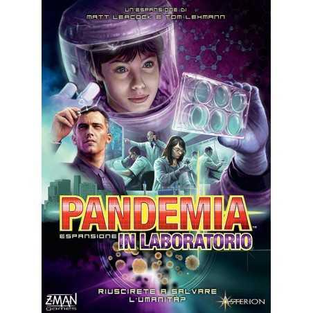 IN LABORATORIO espansione per PANDEMIA asmodee IN ITALIANO gioco da tavolo 3 MODALITA' età 14+