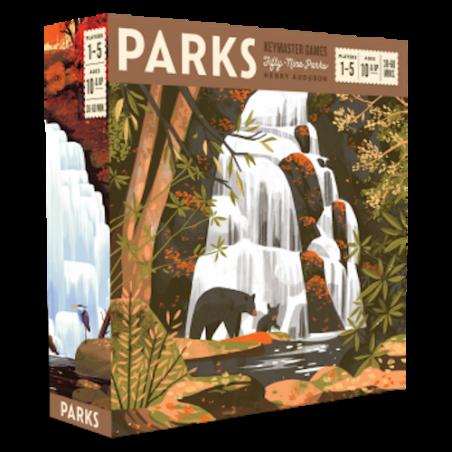 PARKS keymaster games FIFTY NINE PARKS henry audubon IN INGLESE kickstarter GAMETRAYZ età 10+