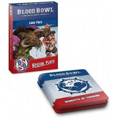 SPECIAL PLAYS blood bowl CARD PACK citadel 48 + 16 CARTE games workshop IN INGLESE età 12+