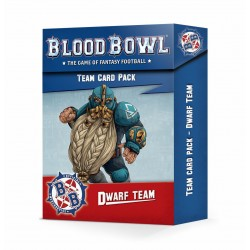 CARD PACK blood bowl DWARF...