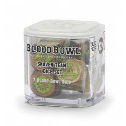 DICE SET blood bowl SKAVEN...