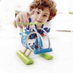 E-COPTER ELICOTTERO IN LEGNO BAMBU - HAPE età 3+
