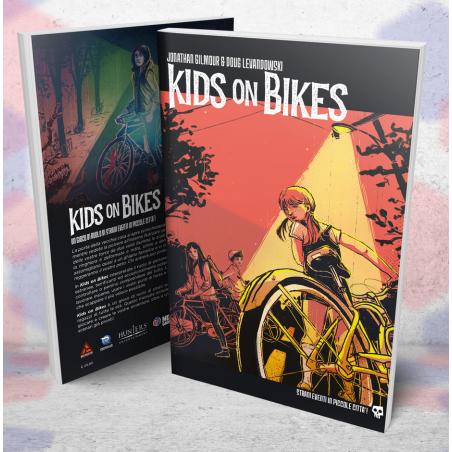KIDS ON BIKES pdf incluso GIOCO DI RUOLO need games IN ITALIANO manuale STRANI EVENTI piccole città