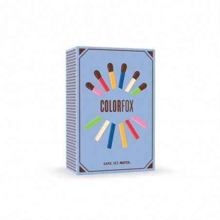 COLORFOX gioco da tavolo PARTY GAME colori HELVETIQ fiammiferi IN ITALIANO età 6+