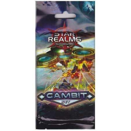 STAR REALMS GAMBIT SET mazzo IL GIOCO DI CARTE espansione DEVIR 20 carte IN ITALIANO età 12+