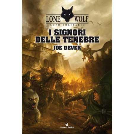 I SIGNORI DELLE TENEBRE joe dever LUPO SOLITARIO VOL 1 lone wolf LIBRO GAME vincent books GAMEBOOK