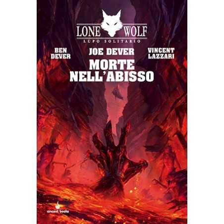 MORTE NELL'ABISSO joe dever LUPO SOLITARIO VOL 30 lone wolf LIBRO GAME vincent books GAMEBOOK