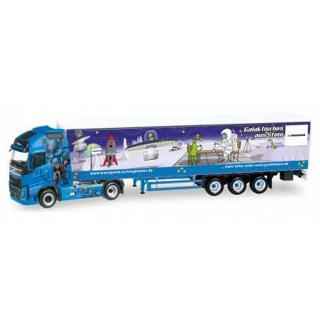 VOLVO GL XL FH SCHREGLMANN camion in plastica HERPA 307741 modellino SCALA 1:87 trucks