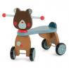 TRICICLO ORSETTO in legno MOULIN ROTY senza pedali LES JOLIS TROP BEAUX bici 665740 età 12 mesi +