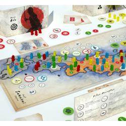 SMALL SAMURAI EMPIREs edizione multilingue IN ITALIANO gioco da tavolo ARCHONA GAMES età 13+ GateOnGames - 2