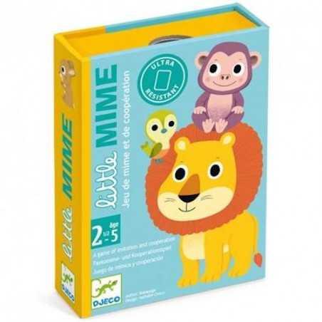 LITTLE MIME gioco di carte COOPERATIVO djeco DJ05063 animali MIMI età 30 mesi +