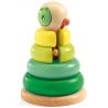 TOURNITWIST gioco in legno DA IMPILARE anelli colorati DJECO stacking game DJ06360 età 18 mesi +