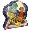 ALADINO aladin PUZZLE scatola sagomata 24 PEZZI in cartone DJECO 62 x 20 cm DJ07281 età 3+