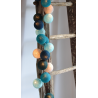 LUCI HAPPY LIGHTS SAMARKAND fila 20 palline colorate in corda con lampadine LED spina