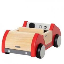 AUTO FAMIGLIARE MACCHINA in legno accessorio casa delle bambole HAPE Happy Family