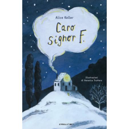 CARO SIGNOR F carmelozampa ALICE KELLER libro per bambini ALTA LEGGIBILITA' età 7+