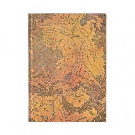 Diario a righe HUNT-LENOX GLOBE midi cm 12x17 Paperblanks FLEXI notebook taccuino