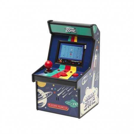 ARCADE ZONE mini videogioco 240 GIOCHI classic LEGAMI sport shooting puzzle GAME età 6+