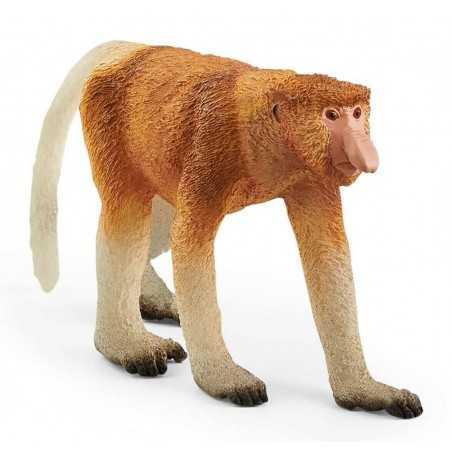 NASICA animali in resina SCHLEICH miniatura 14846 scimmia WILD LIFE età 3+
