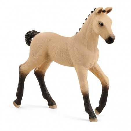 PULEDRO DI HANNOVERIAN RED DUN cavalli in resina SCHLEICH miniatura 13929 HORSE CLUB età 3+