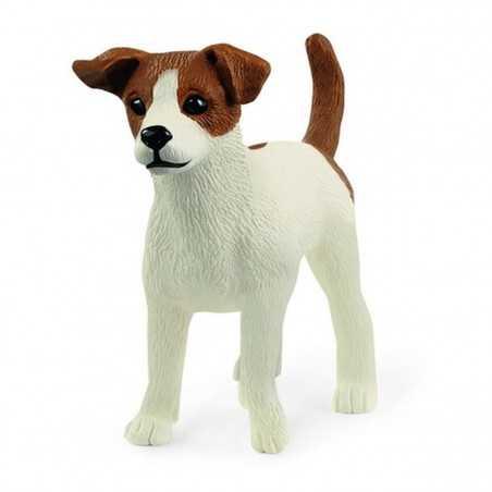JACK RUSSELL TERRIER animali in resina SCHLEICH miniatura 13916 cane FARM WORLD età 3+