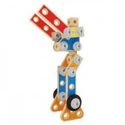 SET DI COSTRUZIONI AVANZATO gioco in legno età 3+ Hape Advanced Builder set