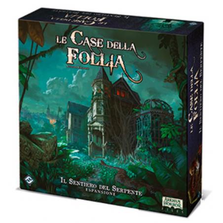 IL SENTIERO DEL SERPENTE espansione per LE CASE DELLA FOLLIA seconda edizione ASMODEE gioco IN ITALIANO età 14+