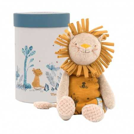 LEONE in scatola PAPRIKA peluche PUPAZZO 669020 sous mon baobab MOULIN ROTY