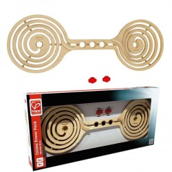 QUADRILLA ORBITER POWER PACK espansione gioco piste in legno per biglie età 4+