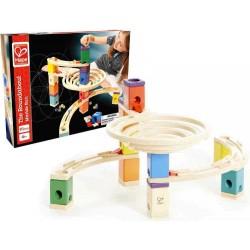 QUADRILLA ROUNDABOUT BASIC set base gioco piste in legno per biglie età 4+
