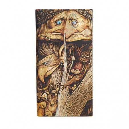 Diario a righe CREATURE DISPETTOSE 176 pagine slim cm 9x18 Paperblanks slanciato notebook taccuino