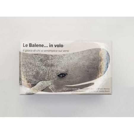 LE BALENE IN VOLO il gioco di parole IN ITALIANO di chi si arrampica sui versi PARTY GAME età 14+