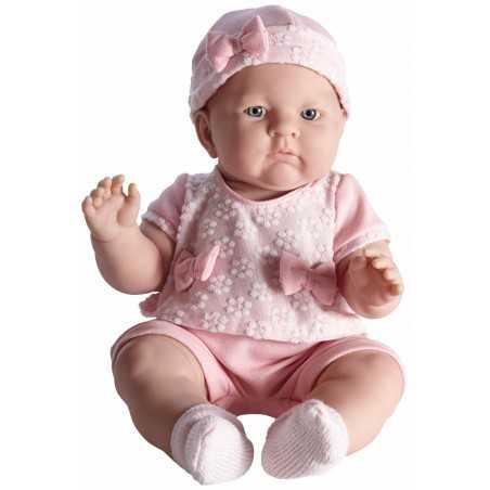 LILY bebè PIGIAMA ROSA neonato H 46 CM bimbo NEWBORN pupazzo BERENGUER boutique REALISTICO età 2+