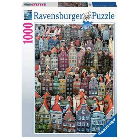 PUZZLE ravensburger DANZICA polonia 1000 PEZZI 50 x 70 cm