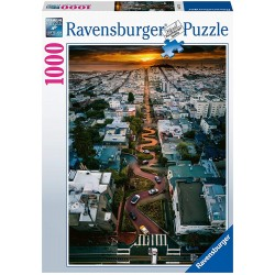 PUZZLE ravensburger LOMBARD...