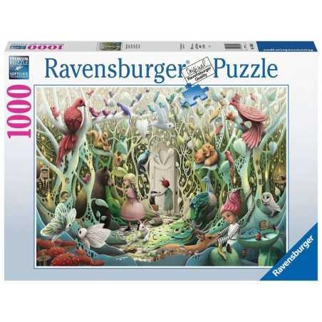 PUZZLE ravensburger GIARDINO SEGRETO the secret garden 1000 PEZZI 70 x 50 cm