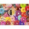 PUZZLE ravensburger CIAMBELLE COLORATE donuts 500 PEZZI 49 x 36 cm