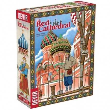 THE RED CATHEDRAL edizione multilingue DEVIR gioco da tavolo IVAN IL TERRIBILE età 10+