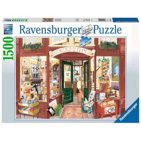 PUZZLE ravensburger LIBRERIA DI WORDSMITH premium 1500 PEZZI 80 x 60 cm