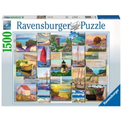 PUZZLE ravensburger COLLAGE...