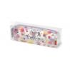 ASTUCCIO TRASPARENTE pencil case TODAY I CHOOSE HAPPINESS felicità LEGAMI