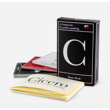 CICERO mazzo base SEFIROT struttura analogica per public speaking ARTE ORATORIA con le carte SEFIROT SRL - 1