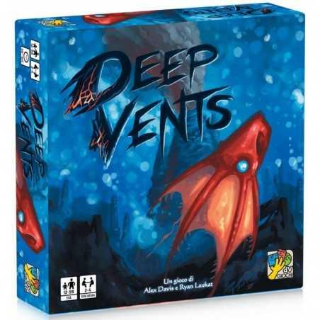DEEP VENTS creature degli abissi GIOCO DA TAVOLO dv giochi PARTY GAME marino IN ITALIANO età 12+