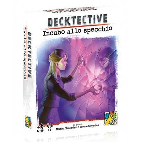 INCUBO ALLO SPECCHIO mazzo di carte DECKTECTIVE gioco investigativo CASO dv giochi IN ITALIANO età 12+
